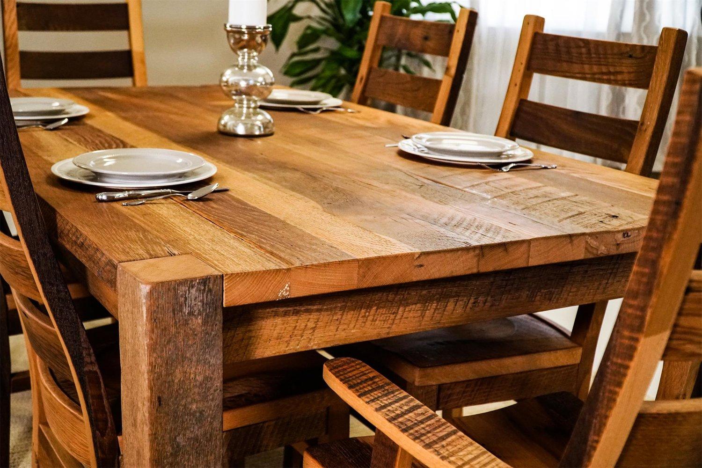 Barnwood Dining Table Ma Pa S