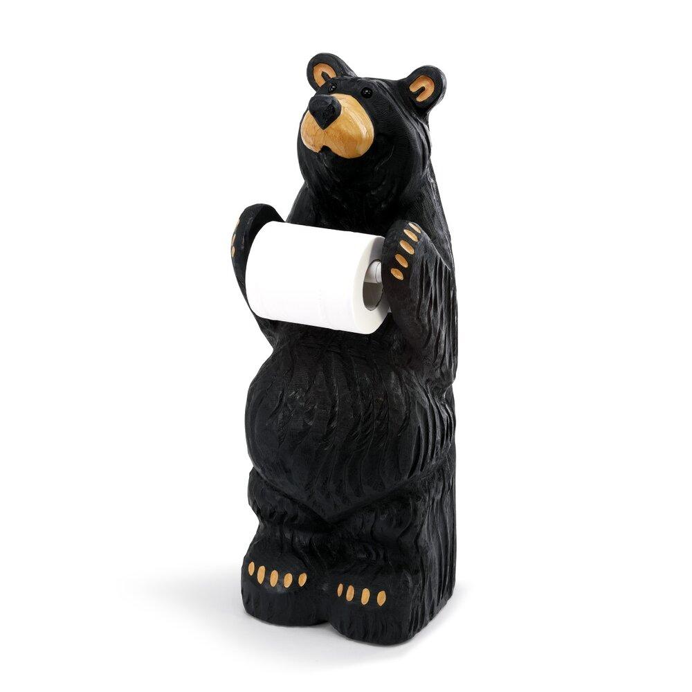 Bear Toilet Paper Holder Short — Ma & Pa's