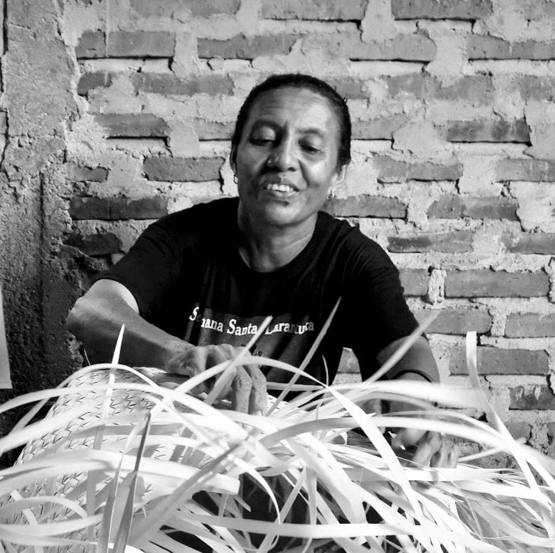 Basket weaving artisan fair trade homewares