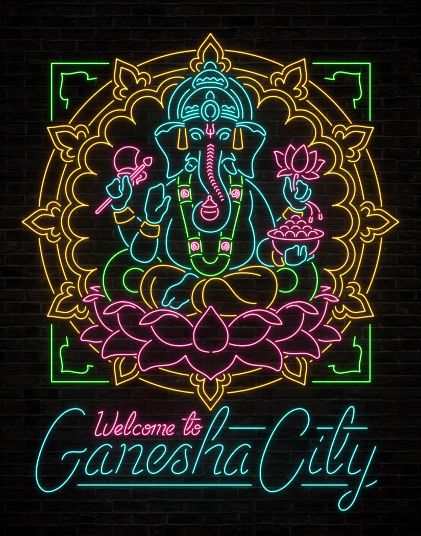 2018_BeyondGoodAndEvil2_Murals_Neon_Ganesha_01_v04_Portfolio.png