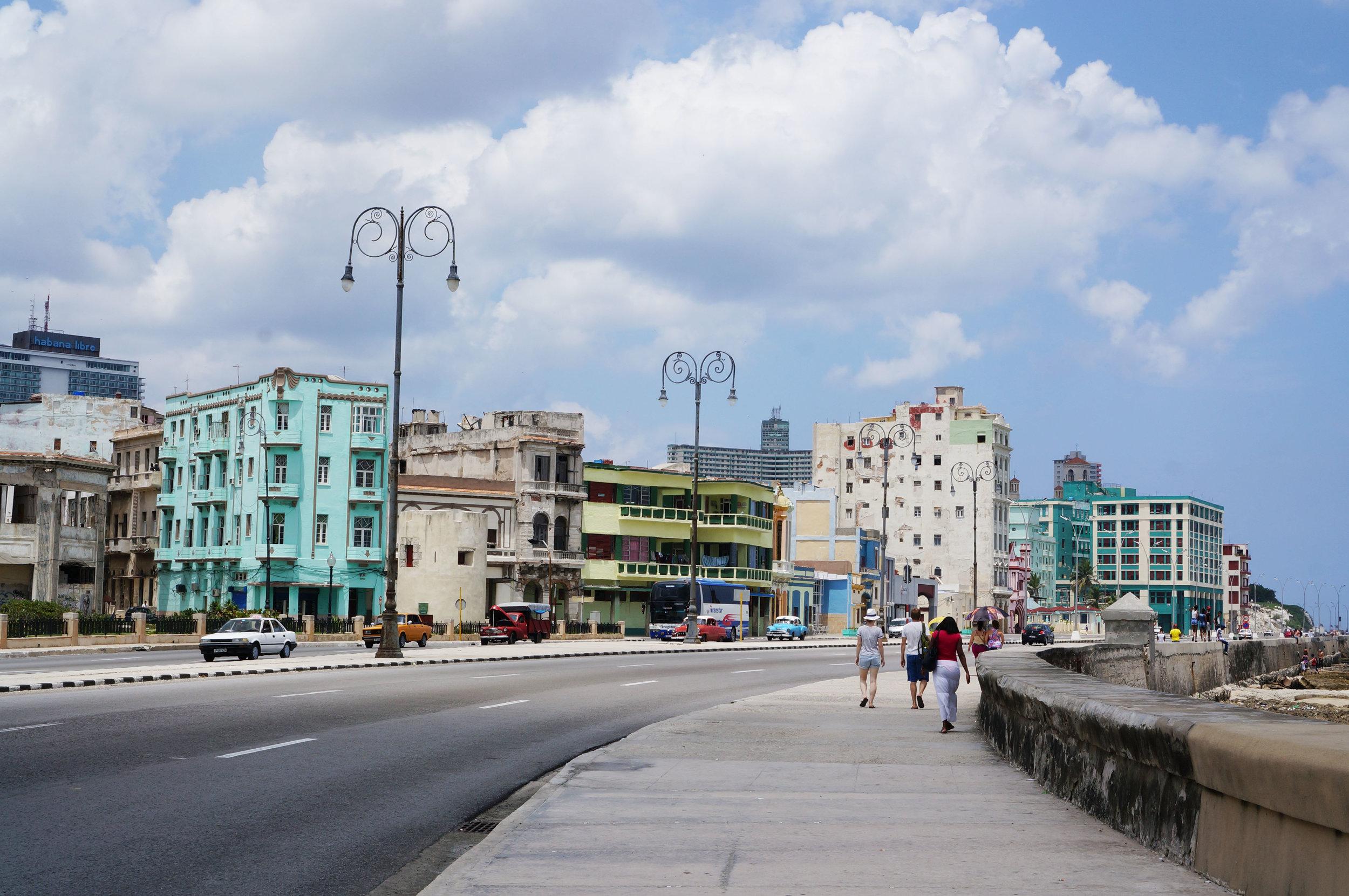Along the Malecón