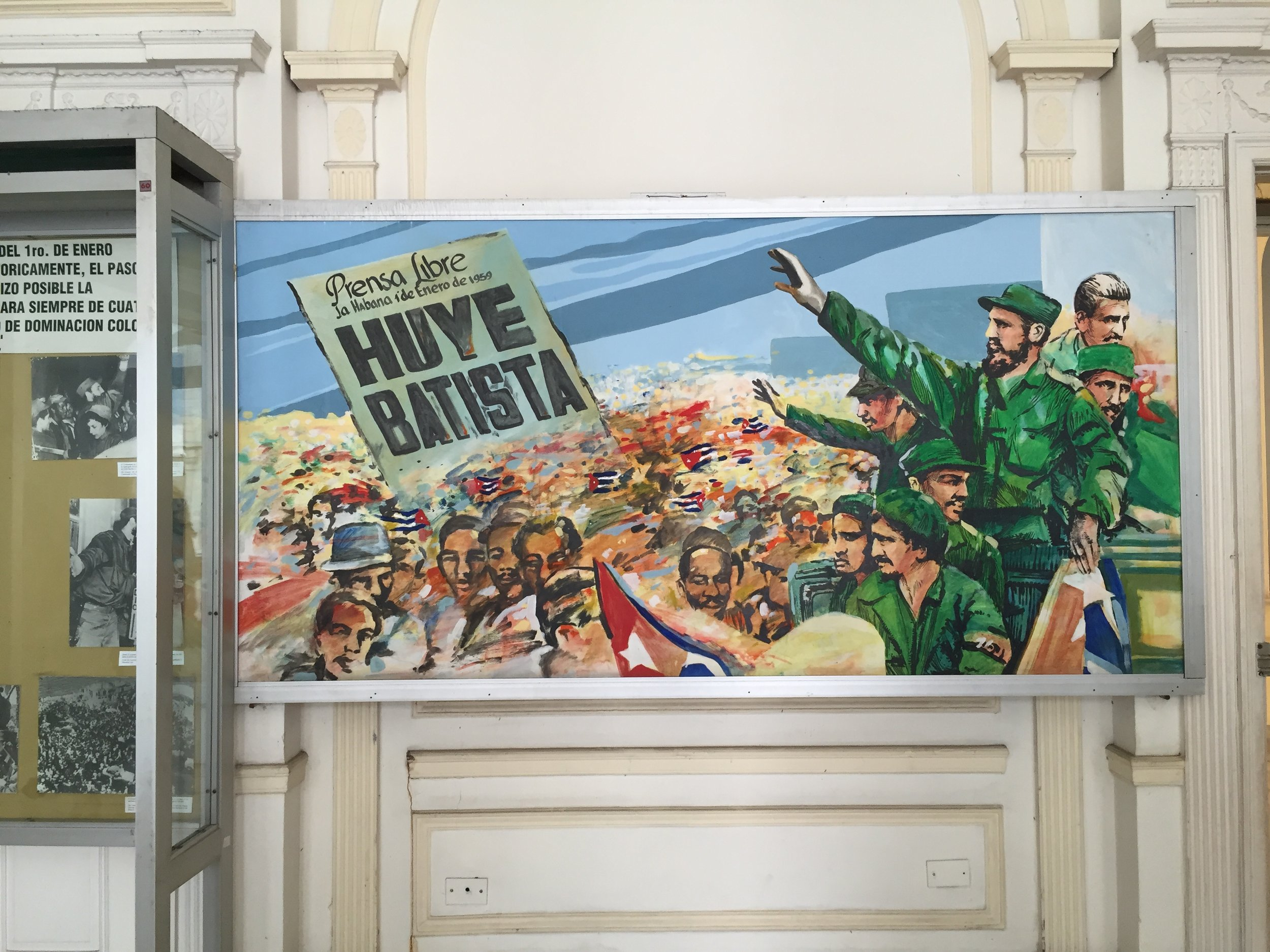 At the Museo de la Revolución