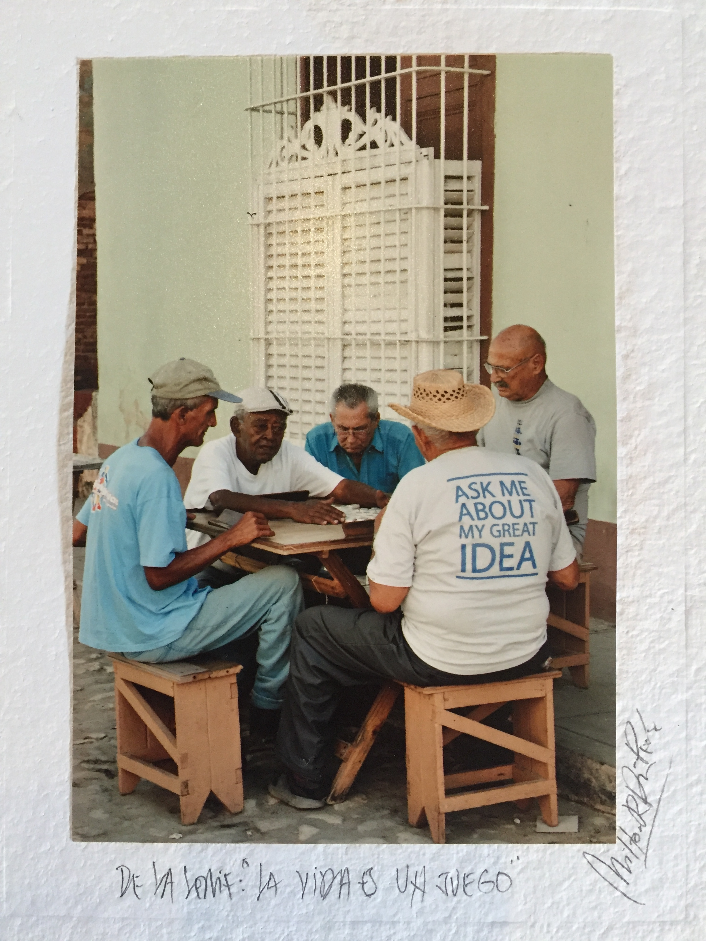 """A photograph I purchased at the Obispo Street Market, it's probably one of my favorite """"souvenirs"""" from Havana. Along with the photo of El Dandy....more to follow on that! (:"""