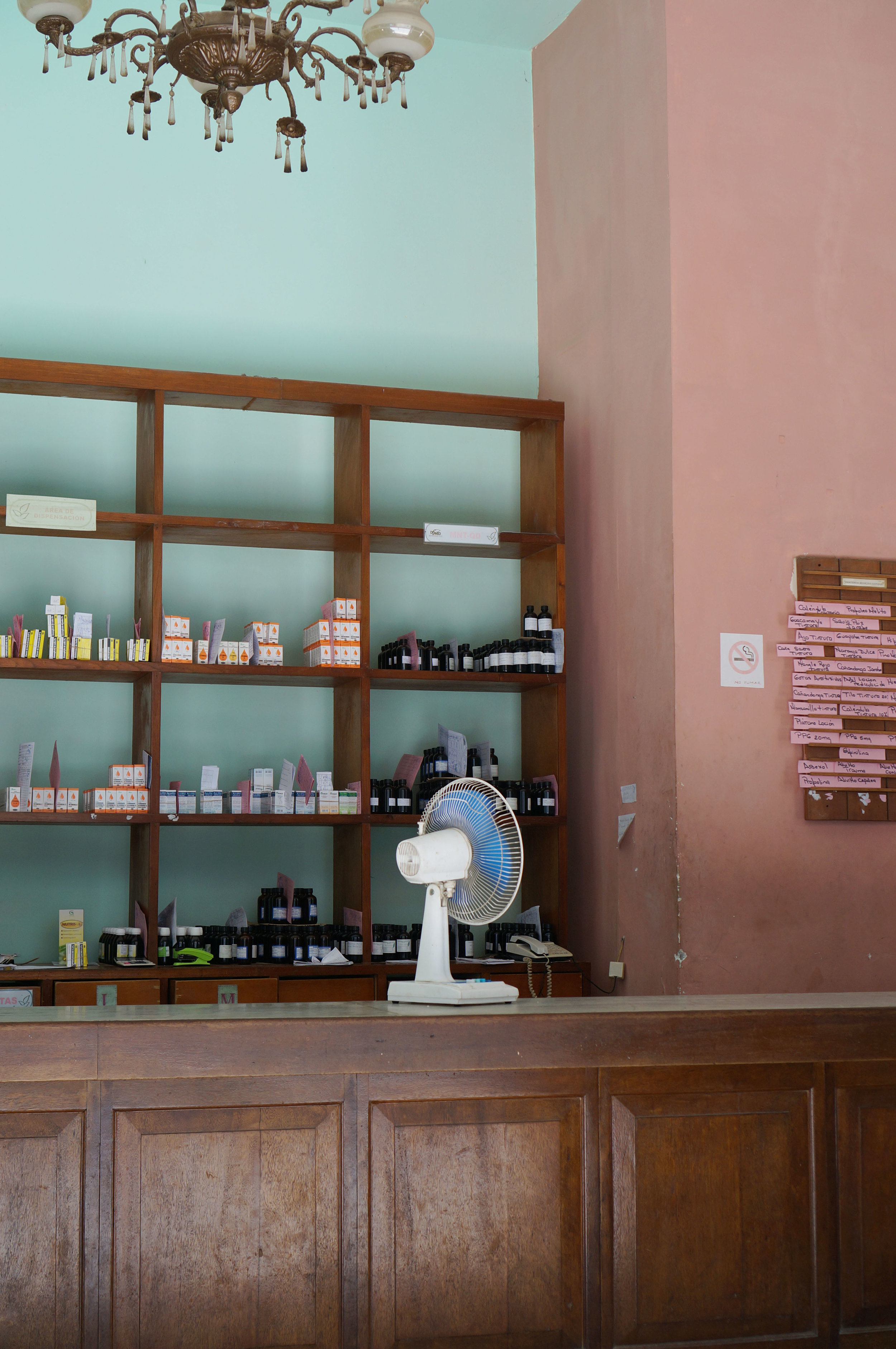 ...actual operating pharmacy.