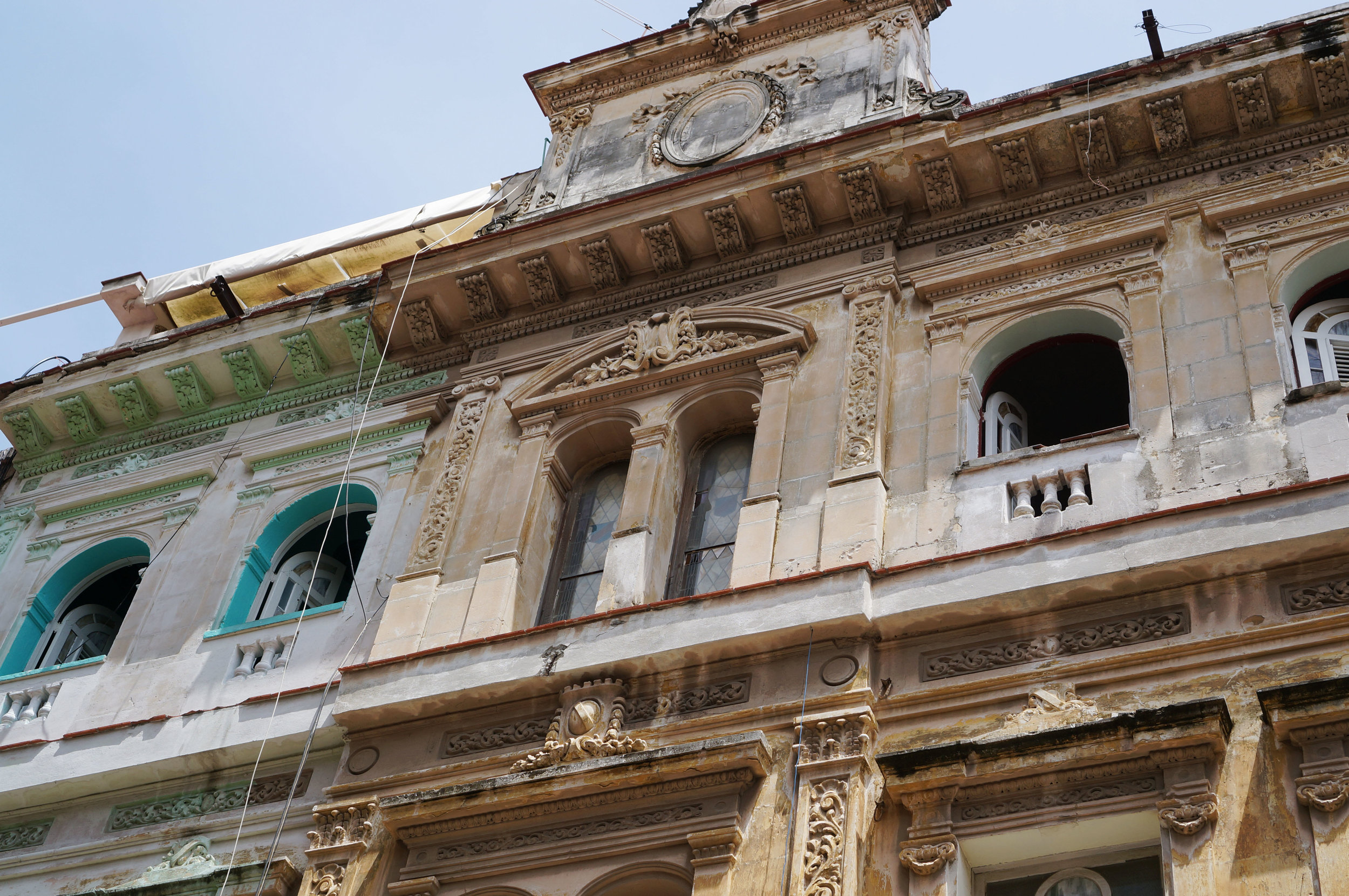 Stages of renovation / preservation.