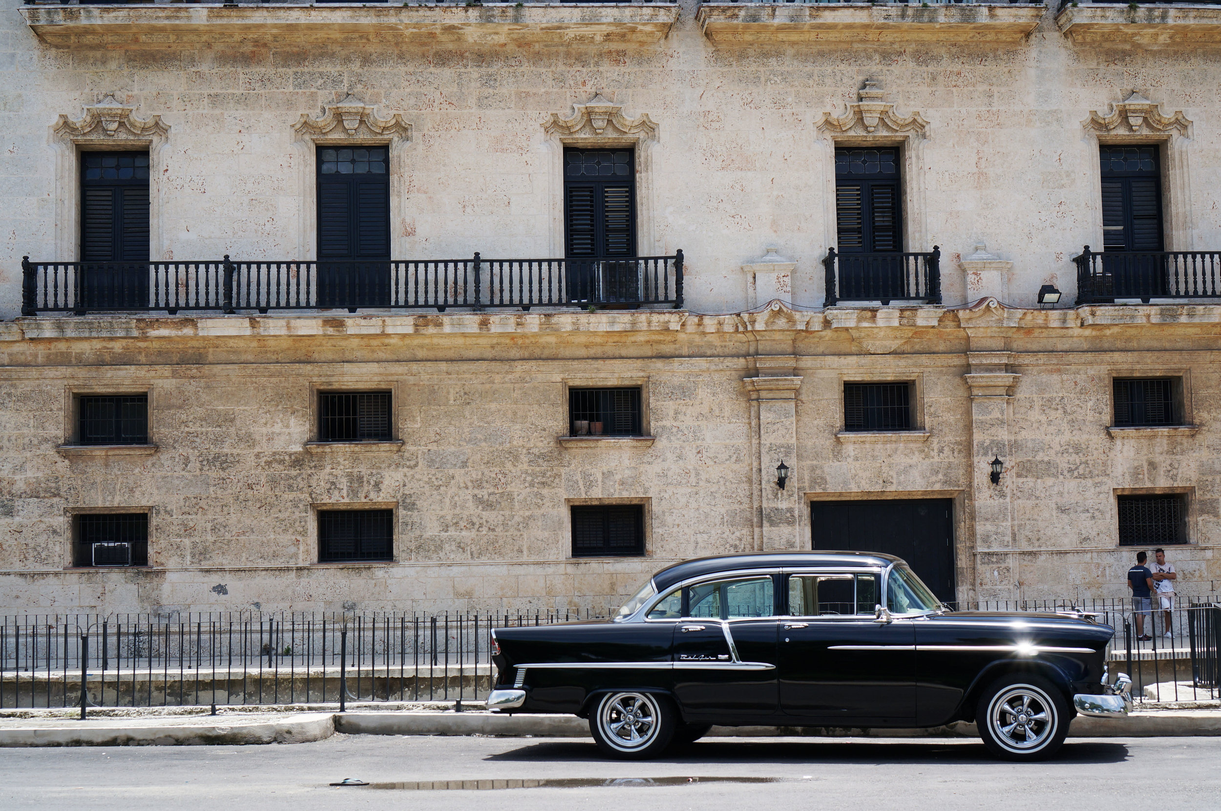 Perpetuating the superficial identity of Havana - but golly it was so perfectly photogenic.