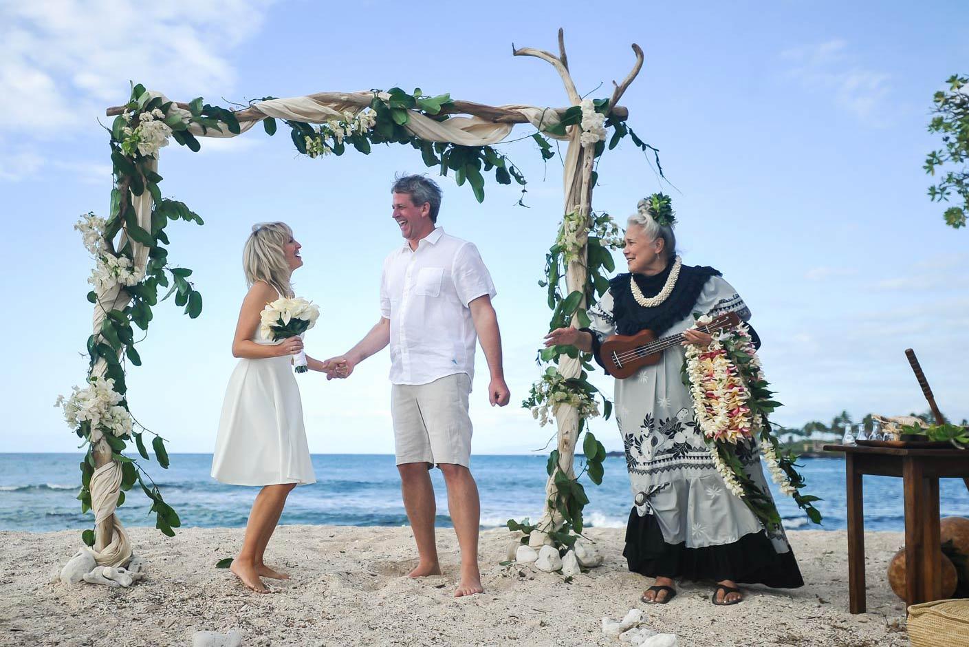 Wedding In Hawaii.Beach Beauty