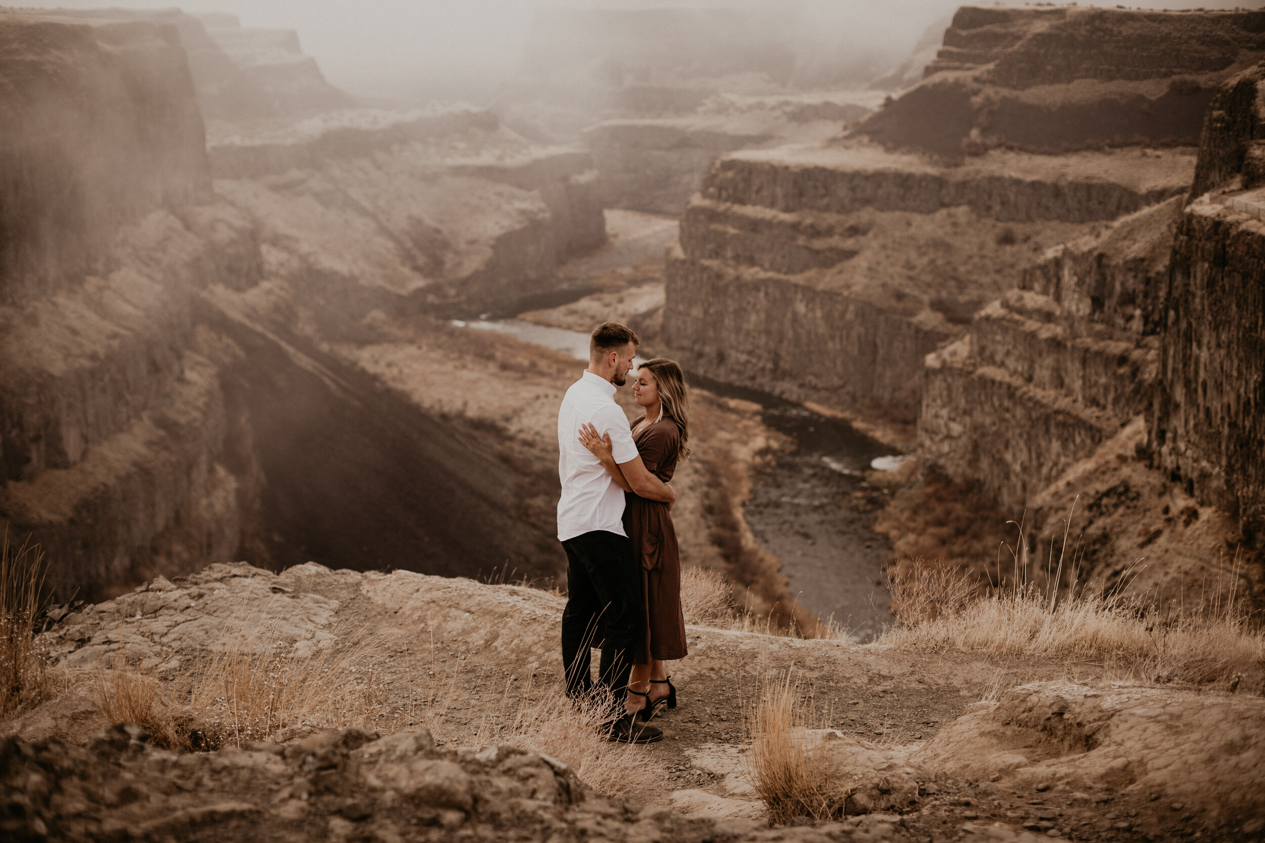 MARCUS + JESSICA: A LOVE STORY - sunrise proposal | antelope, orengagement adventure | washtucna, wawedding day | spokane, waSEE FOR YOURSELF