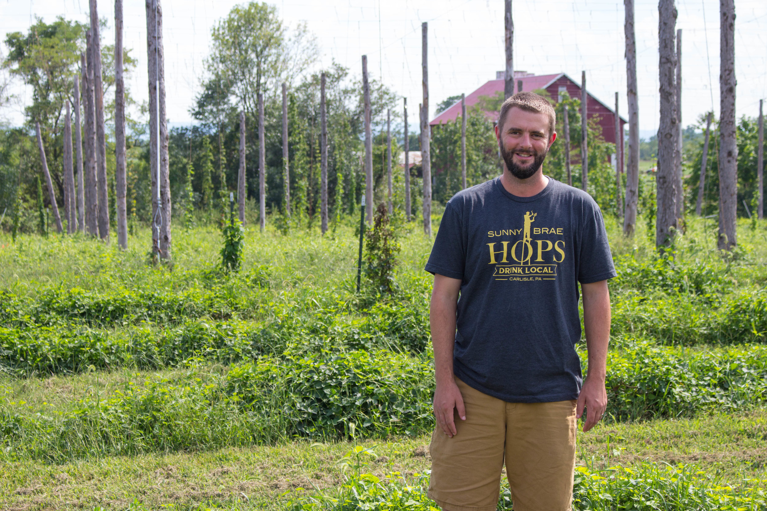 Artisan Situation Podcast  EP 001: Adam Dellinger of Sunny Brae Hops