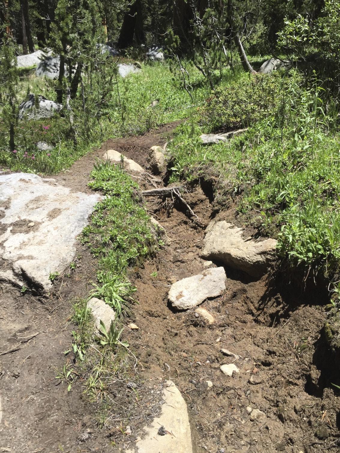 Eroding Trails