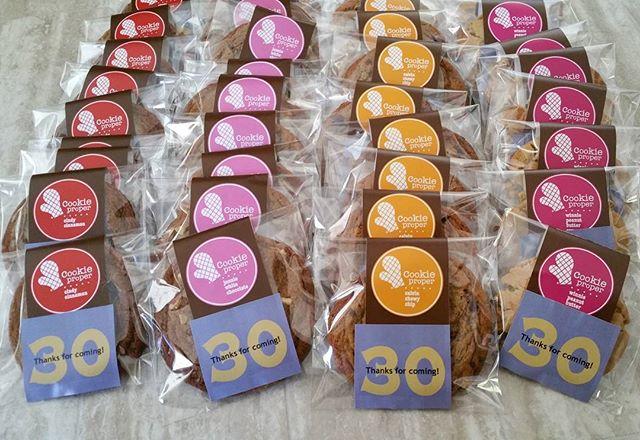 Happy birthday cookies!