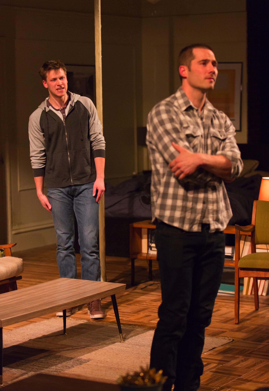 Wes (Carl Lundstedt), Jonathan (Luke Macfarlane)