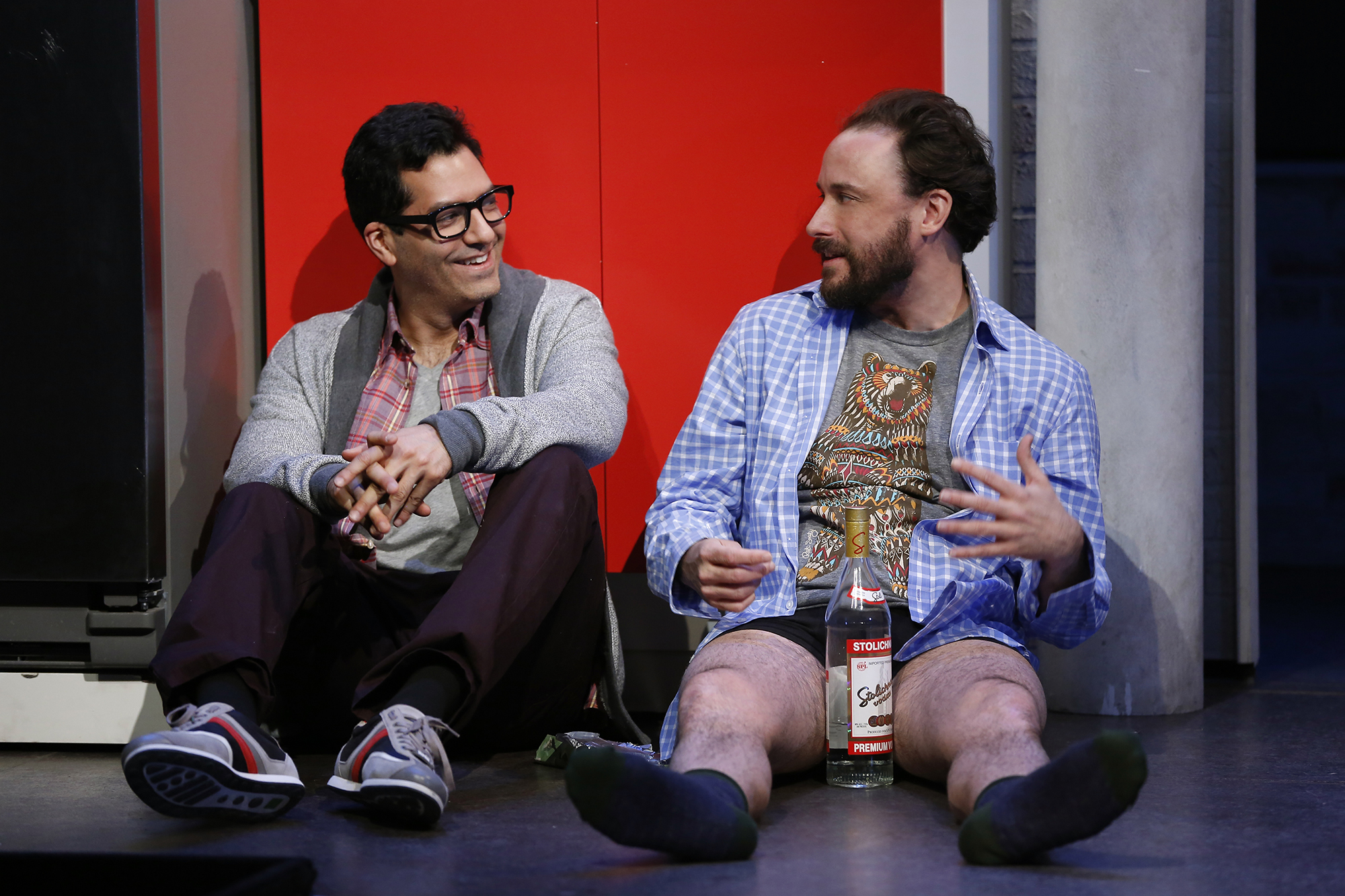 Khalil (Alfredo Narciso), Owen (Greg Keller)