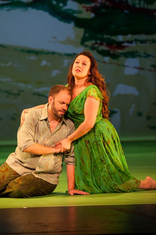 Thomas Cooley (Acis), Yulia Van Doren (Galatea)