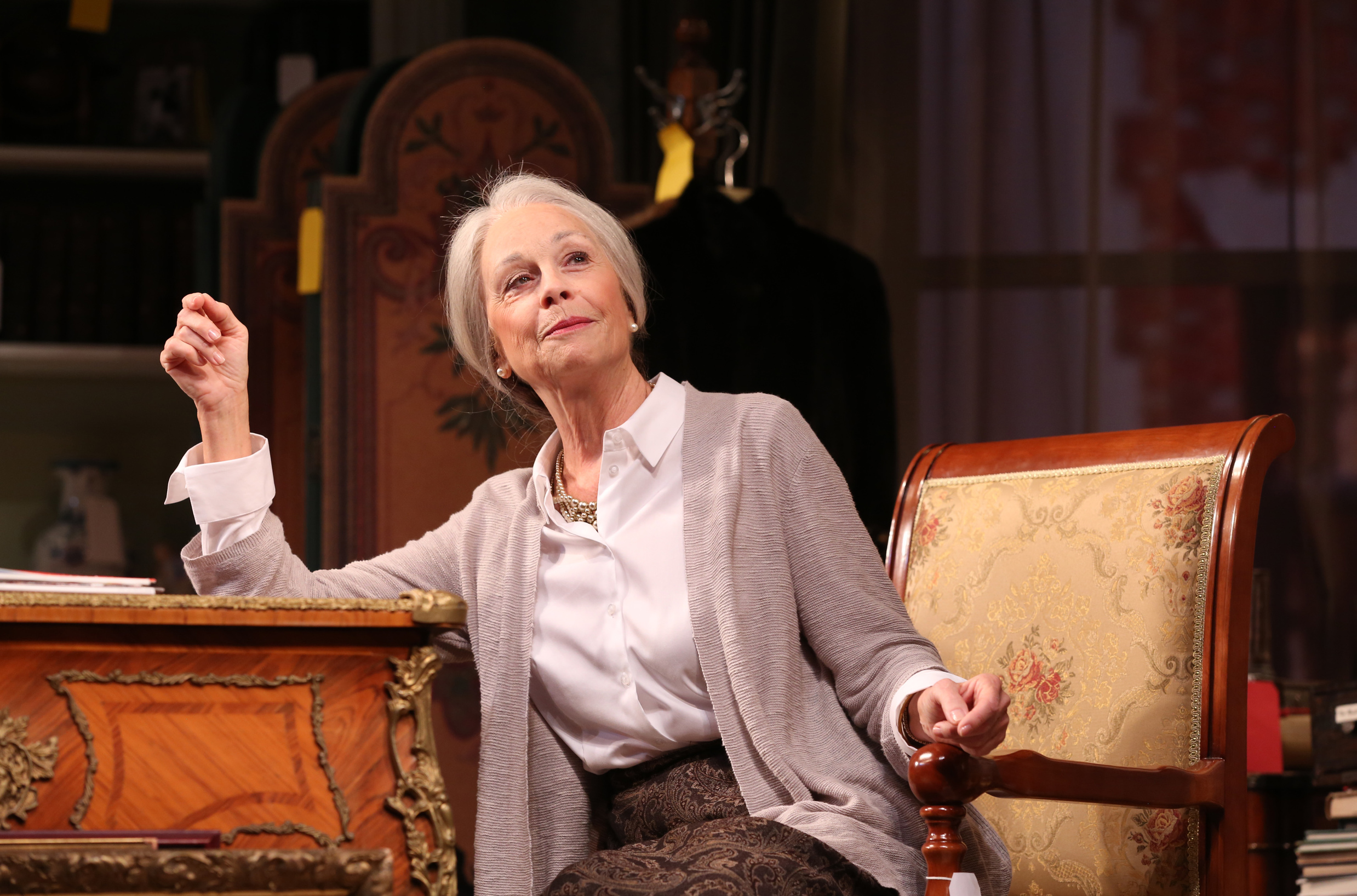 Maureen Anderman as Cornelia Cunningham; photo by Joan Marcus