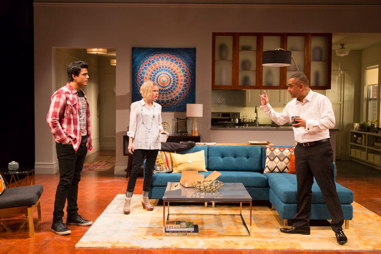 Mohit Gautam (Abe/Hussein), Nicole Lawrence (Emily), Rajesh Bose (Amir)