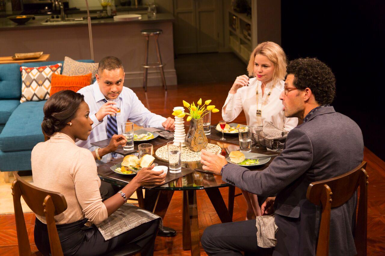 Shirine Babbs (Jory), Rajesh Bose (Amir), Nicole Lawrence (Emily), Benim Foster (Isaac)