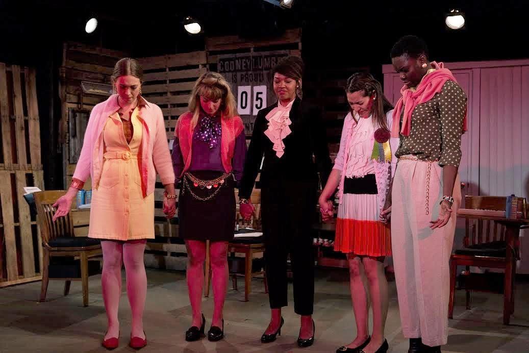 Annelise Lawson (Peaches), Annie Hagg (Ashley), Chalia La Tour (Susan), Jenelle Chu (Patty), Shaunette Renee Wilson (Dawn)