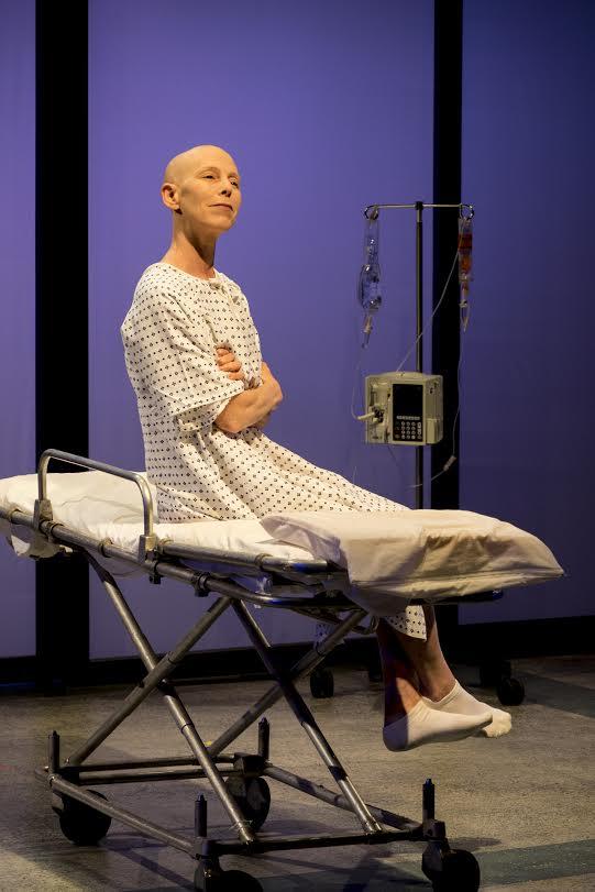 Elizabeth Lande as Dr. Vivian Bearing (photo: Rich Wagner)