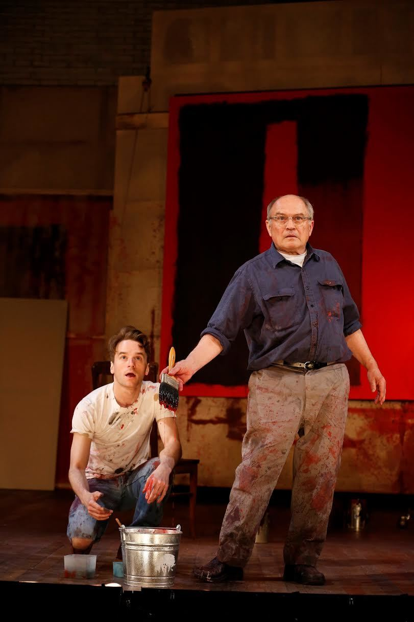 Ken (Patrick Andrews), Rothko (Stephen Rowe) (photo: Carol Rosegg)