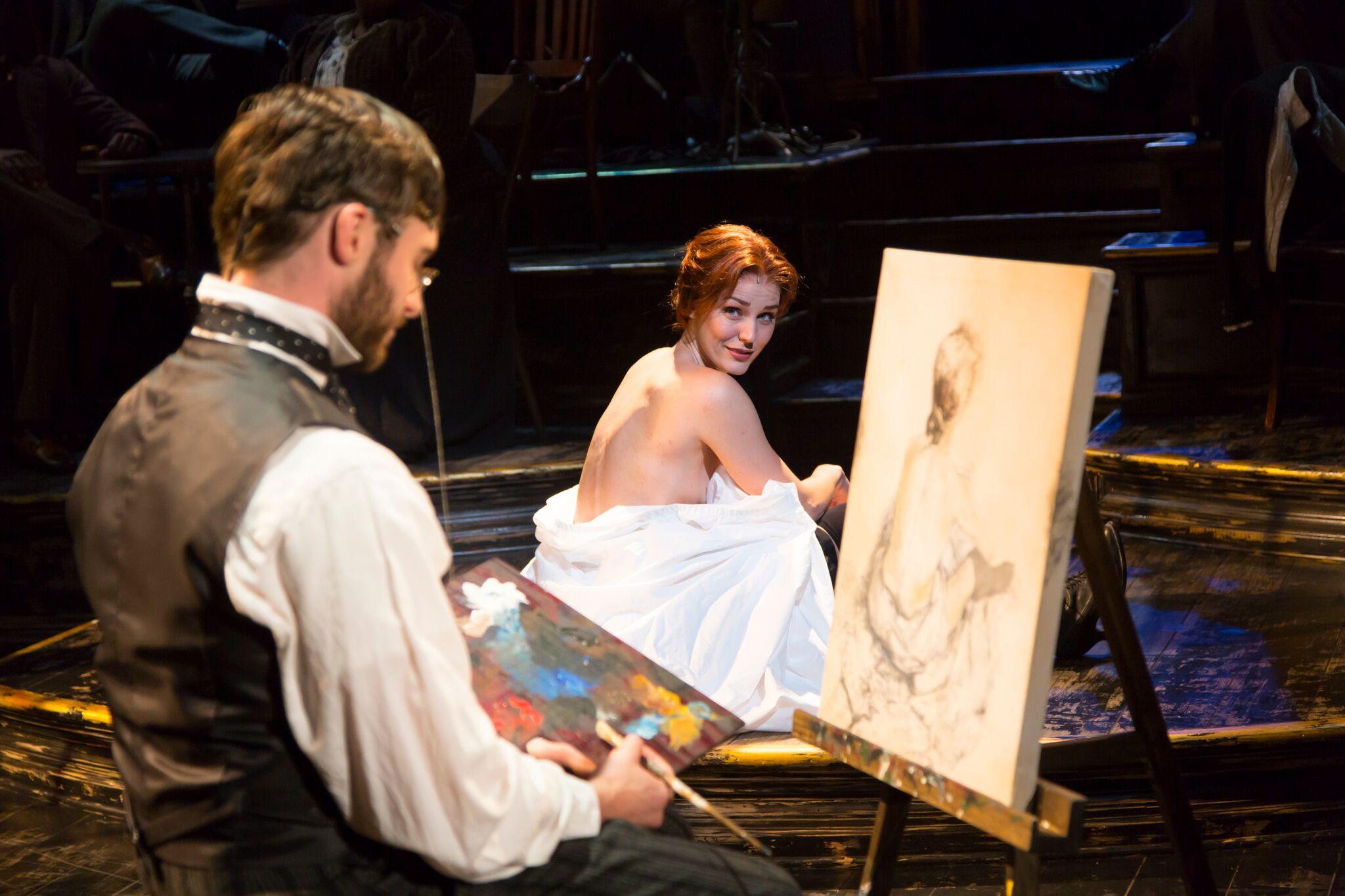 Henri de Toulouse-Lautrec (Bobby Steggert), Suzanne Valadon (Mara Davi) (photo: T. Charles Erickson)