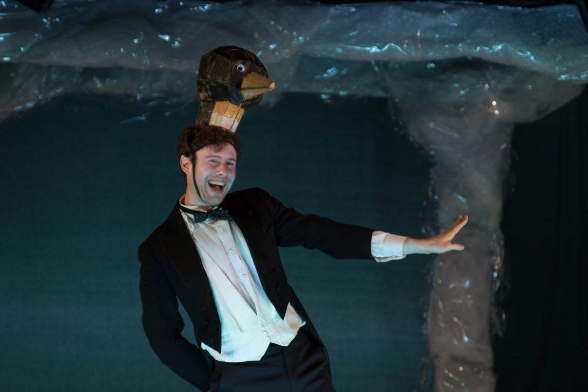 A Penguin Leader (Patrick Foley) (photo: Christopher Thompson)
