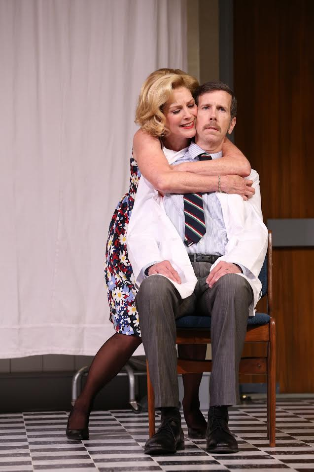 Mr. and Mrs. Prentice (Robert Stanton, Patricia Kalember) (photo: Carol Rosegg)