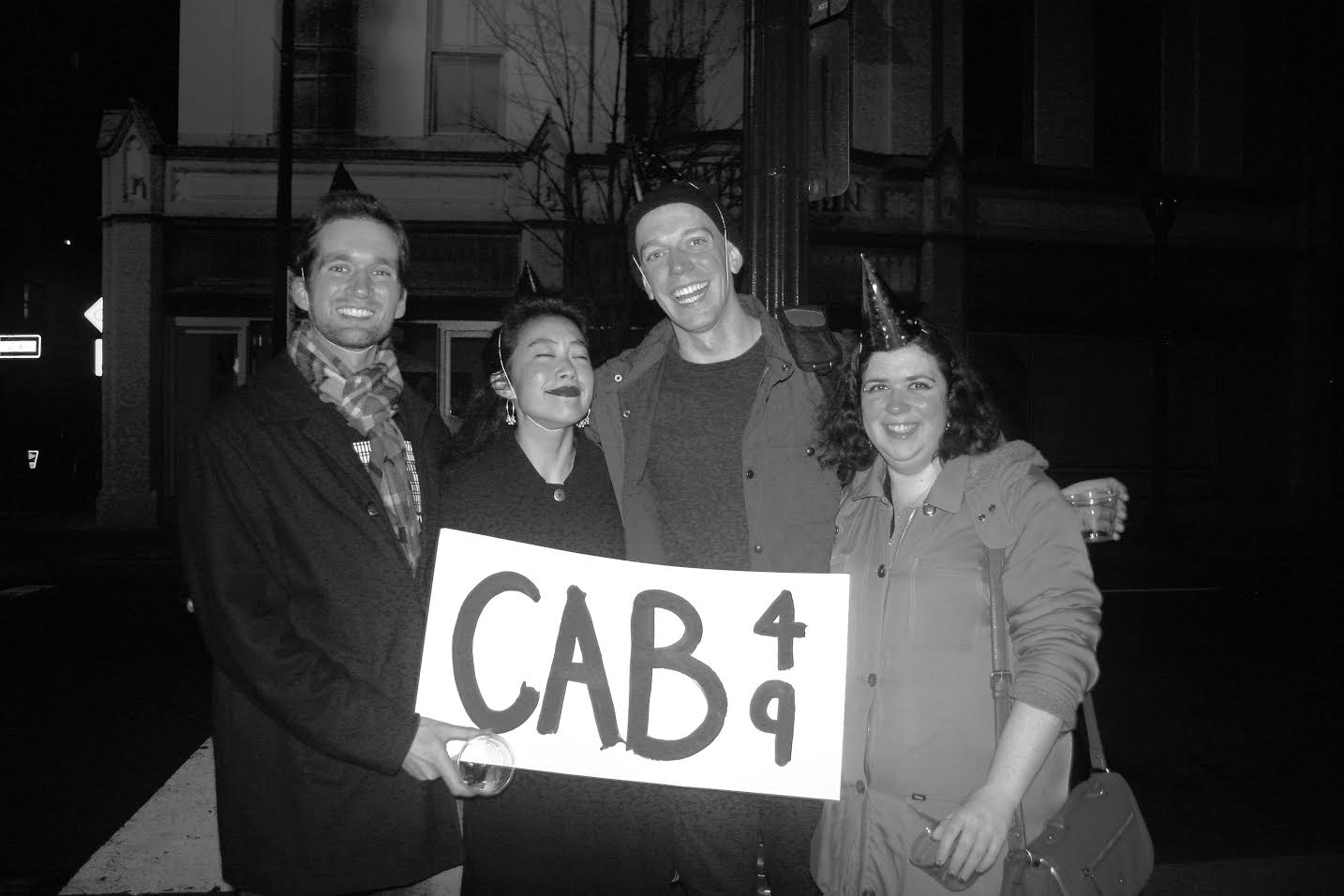 Steven Koernig, Ashley Chang, Kevin Hourigan, Davina Moss, the leadership team of Cab 49