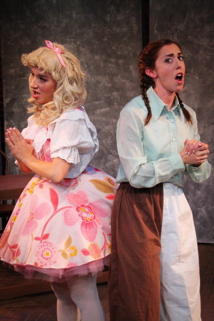 June (Carissa Marisso) and Louise (Kate Simone) (photo: Joe Landry)