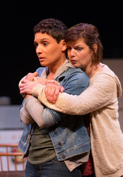 Molly (Vanessa R. Butler), and Mae (Mary Bacon) (photo: T. Charles Erickson)