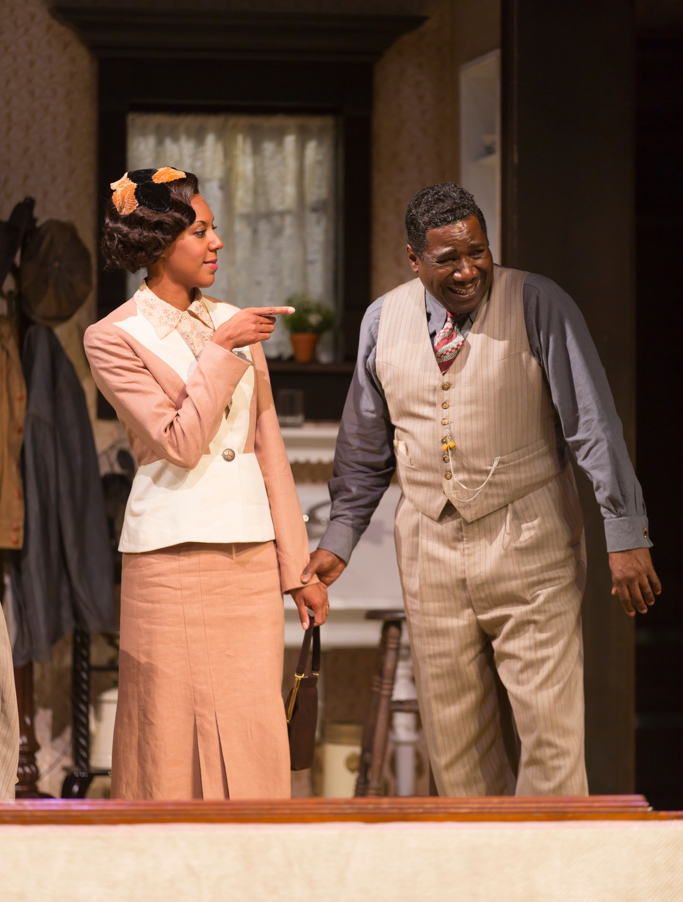 Berniece (Christina Acosta Robinson), Wining Boy (Cleavant Derricks) (photo: T. Charles Erickson)