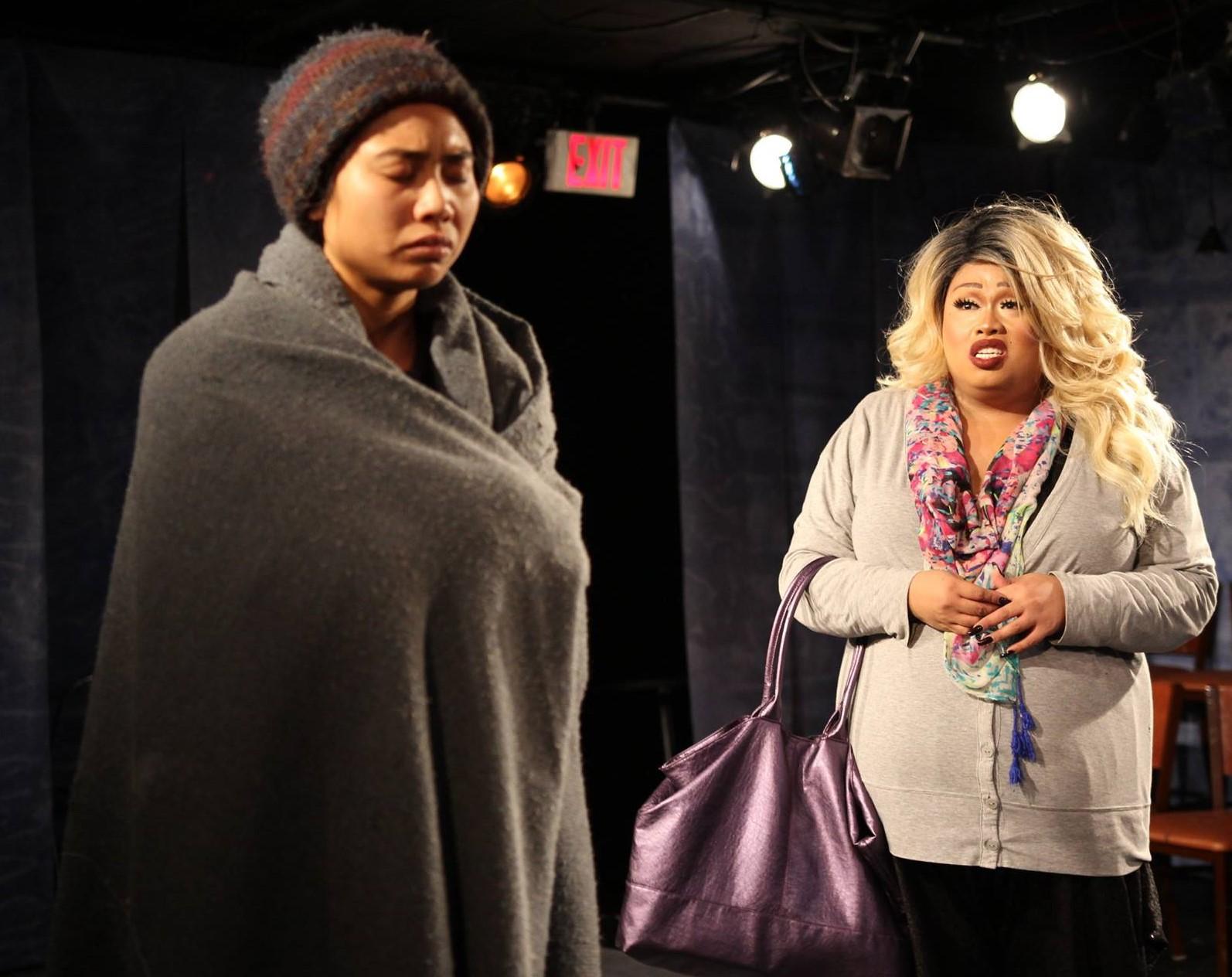 Teresa (Francesca Fernandez McKenzie), Gil (Bianca Castro) (photo: Elizabeth Green)