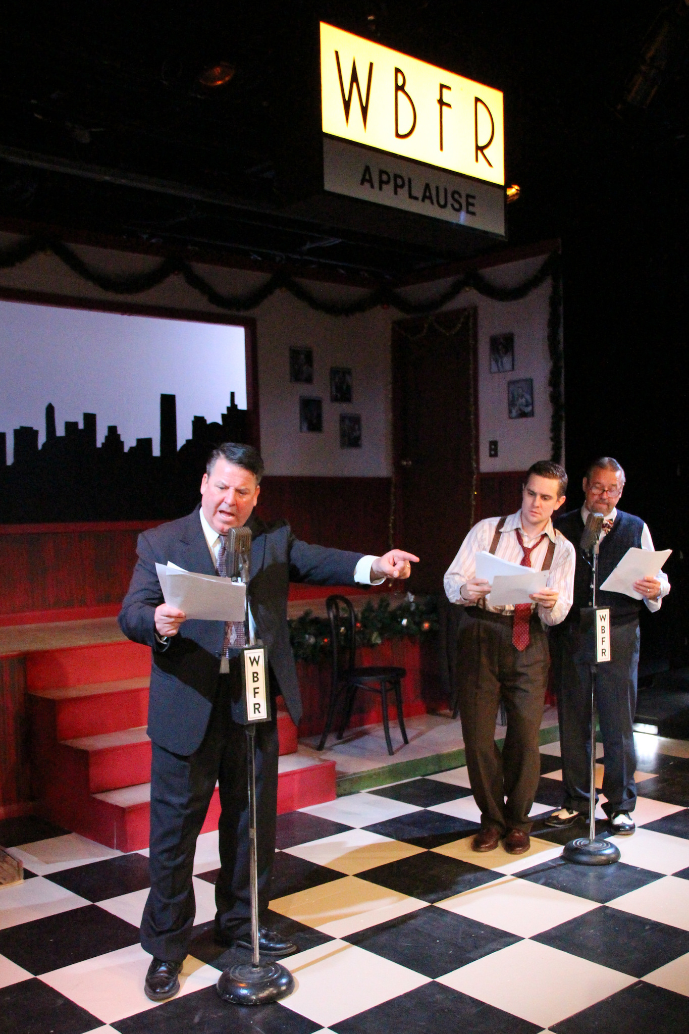 Freddie Filmore (Allan Zeller), Jake Laurents (Jon-Michael Miller), Harry Heywood (Jim Schilling)