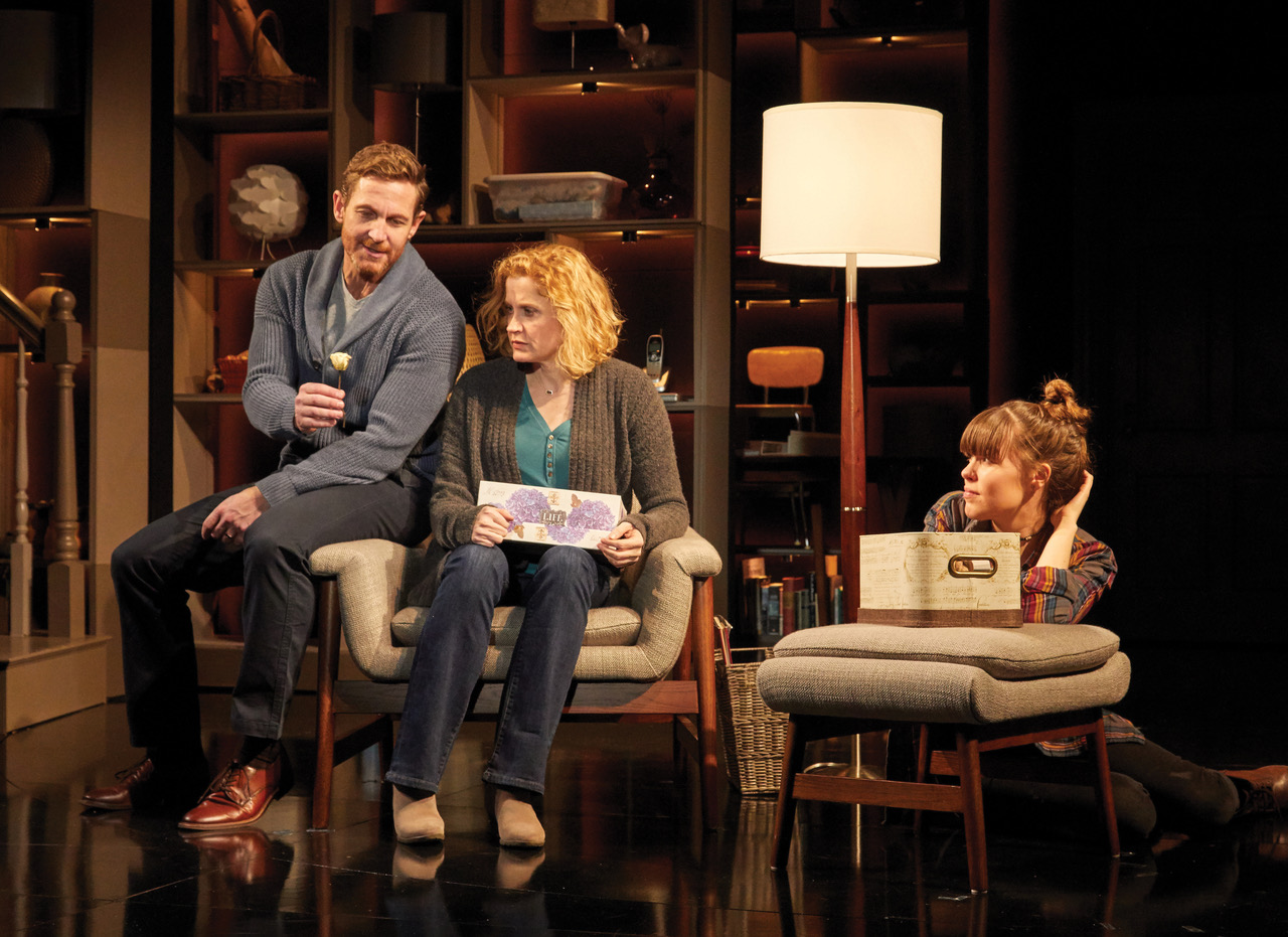 Dan (David Harris), Diana (Christiane Noll), Natalie (Maya Keleher)