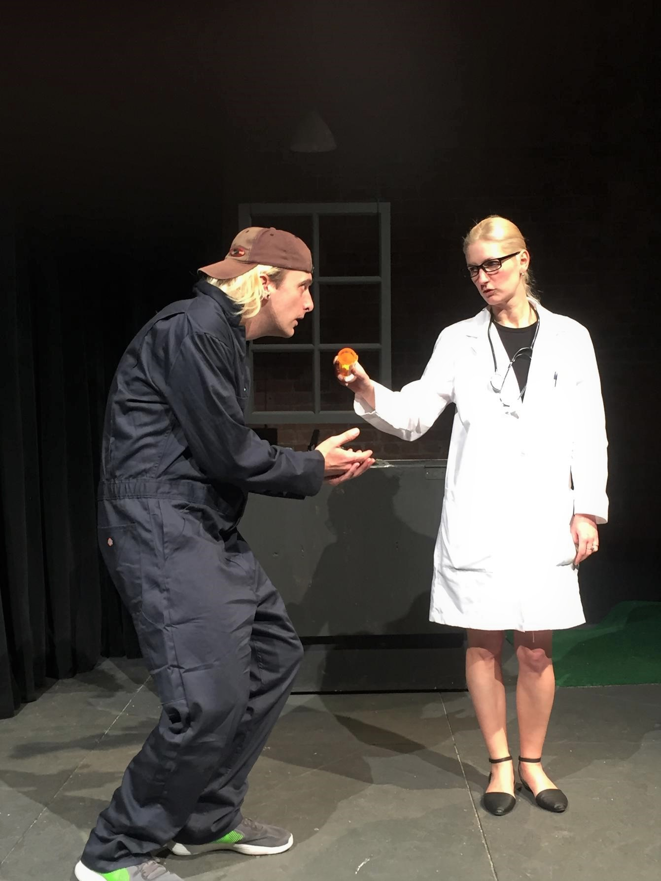 Mechanic (Trevor Williams), Doctor (Megan Chenot)