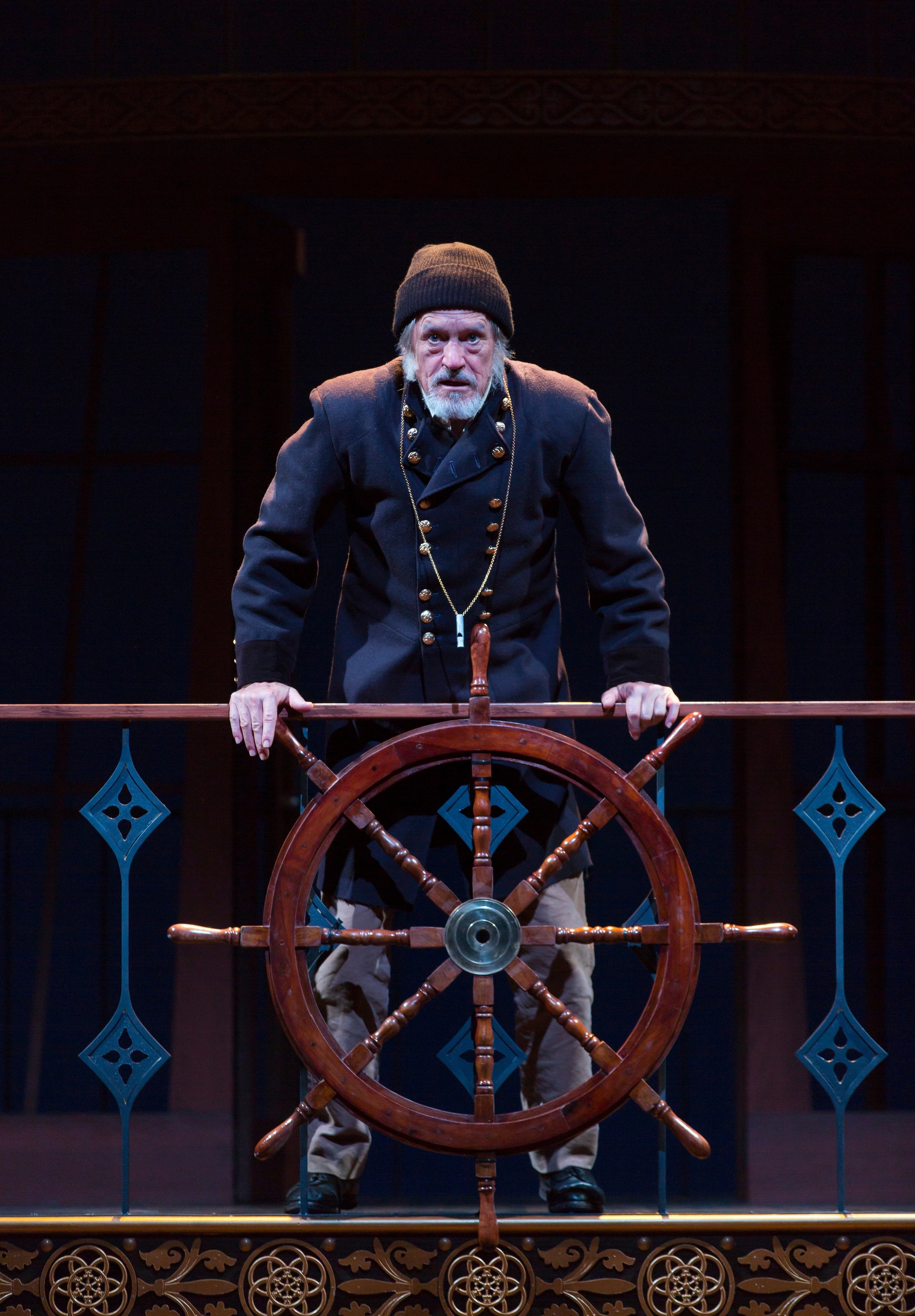 Captain Shotover (Miles Anderson) (photo: T. Charles Erickson)