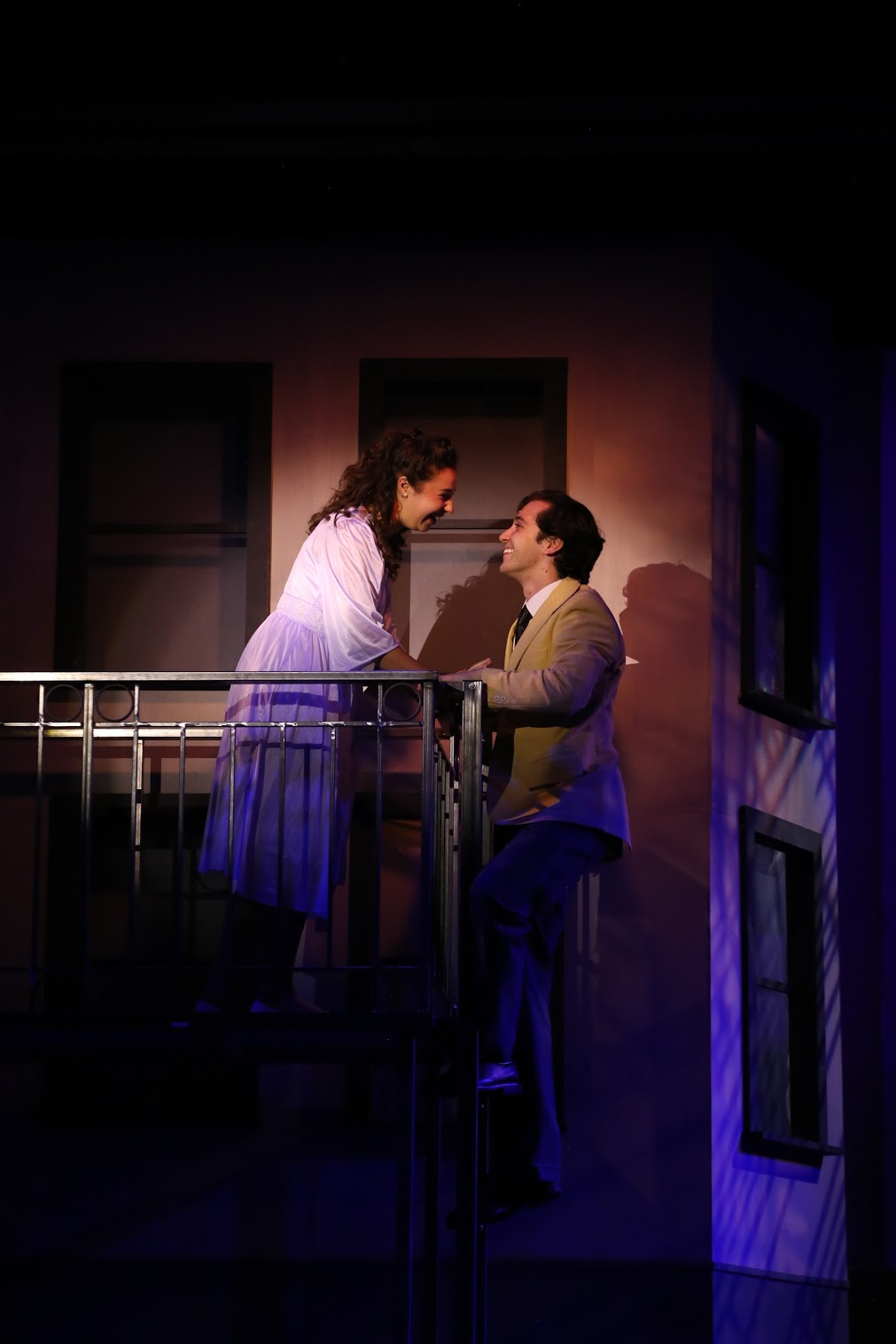Maria (Mia Pinero), Tony (Stephen Mir) (photo: Jonathan Steele)