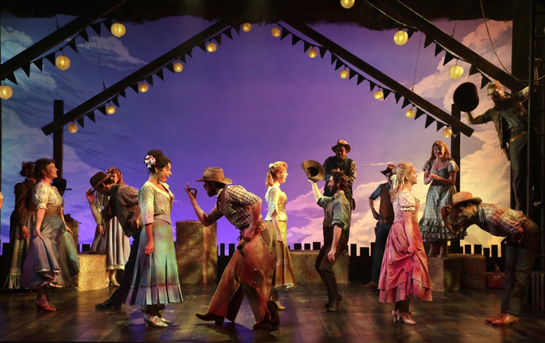 The Cast of Oklahoma! (photo: Diane Sobolewski)