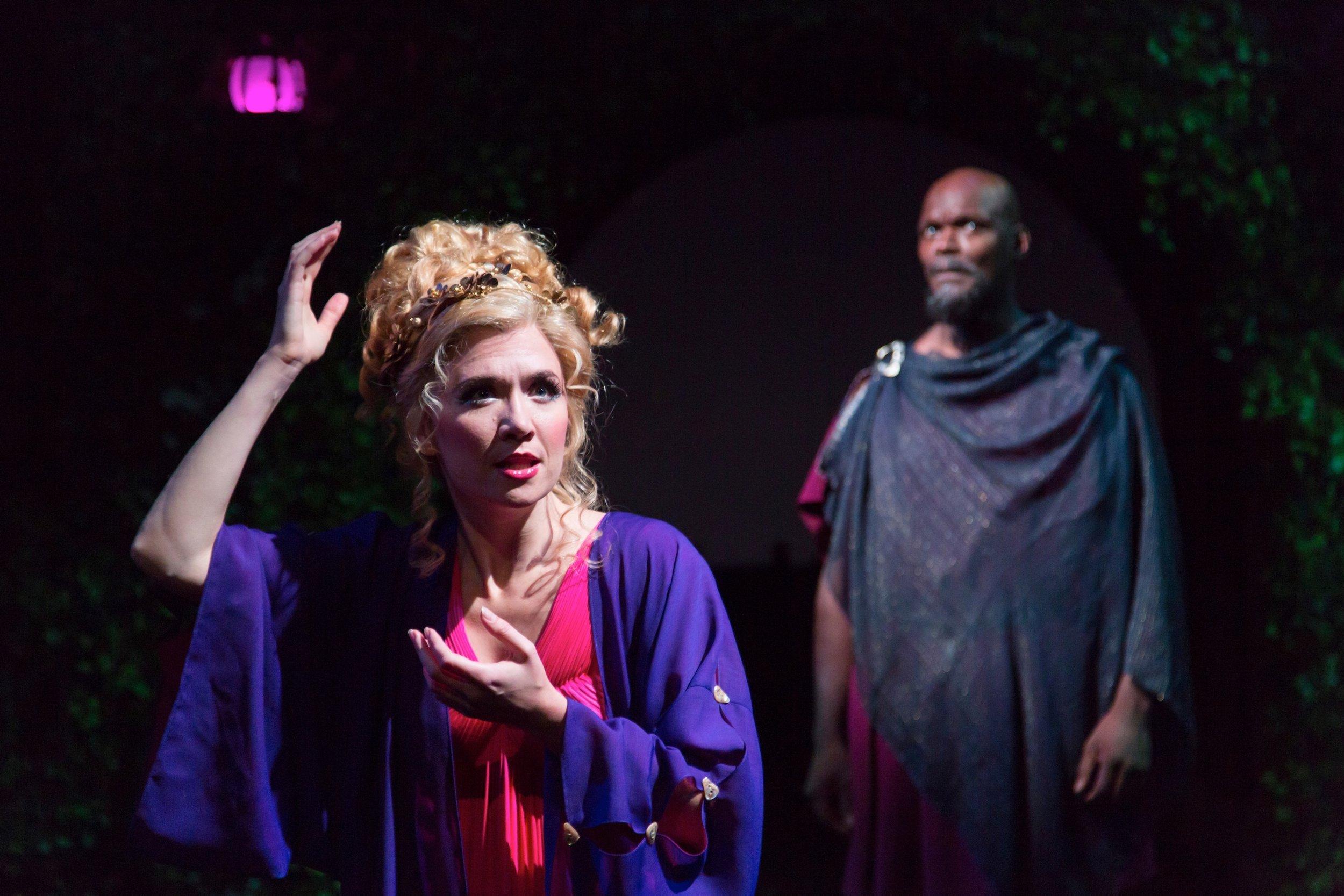 Titania (Scarlett Strallen), Oberon (Esau Pritchett)