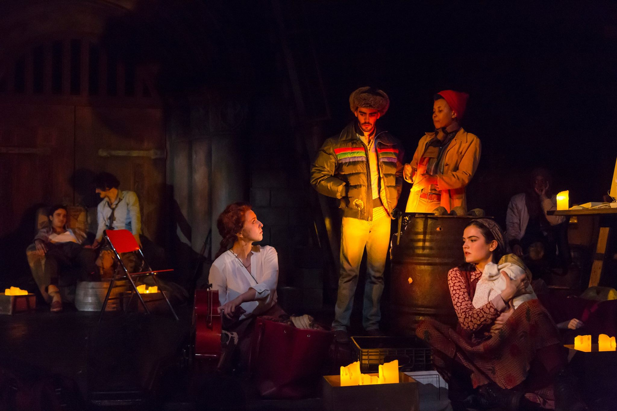 Abdel Rahman (Abubakr Ali), Raif (Jose Espinosa), Amira (Danielle Chaves), Gregori (William Nixon) Antonio (Kineta Kunutu), Cleopatra (Isabella Giovannini)