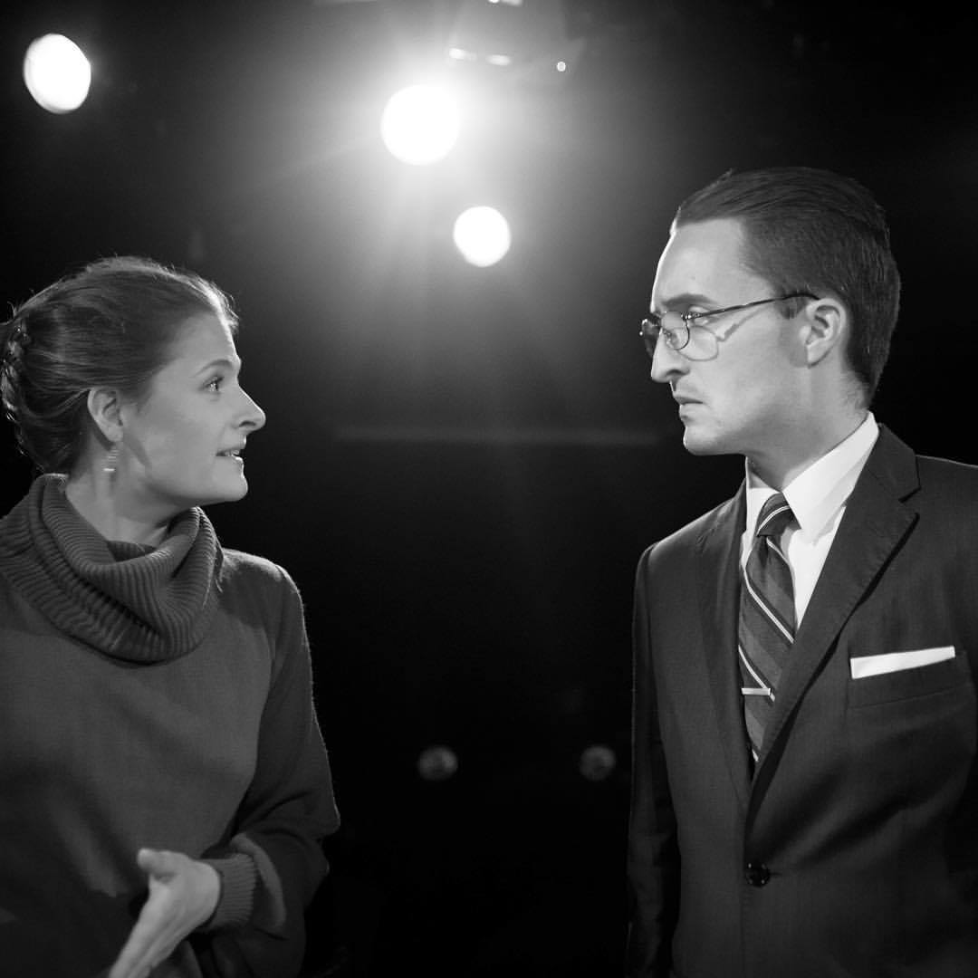 Emily Morrison (Louisa Jacobson), Robert McNamara (Charles O'Malley) (Photographs by Johnny Moreno)