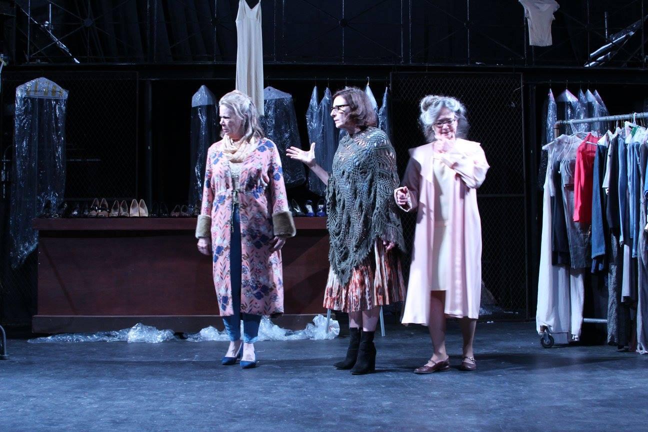 I (Eloise Harris-Damone), A (Mary Round), B (Kathleen Dimmick)
