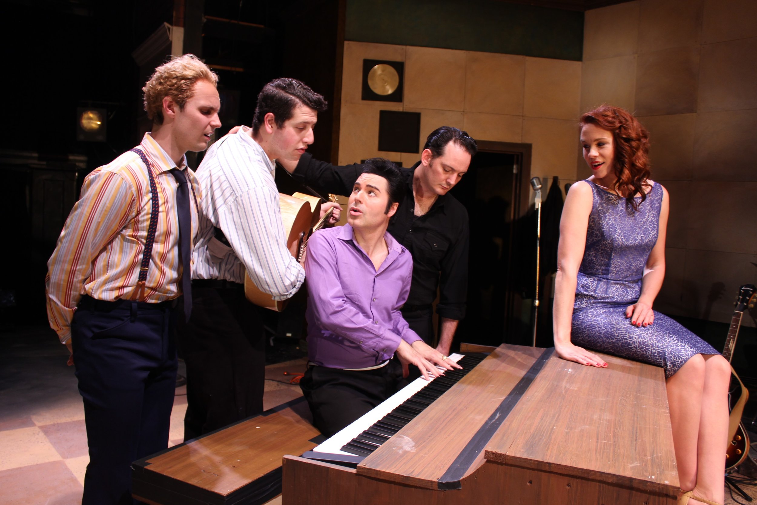 Jerry Lee Lewis (Dominique Scott), Carl Perkins (Jeremy Sevelovitz), Elvis Presley (Cole), Johnny Cash (Sky Seals), Dyanne (Teresa Danskey)