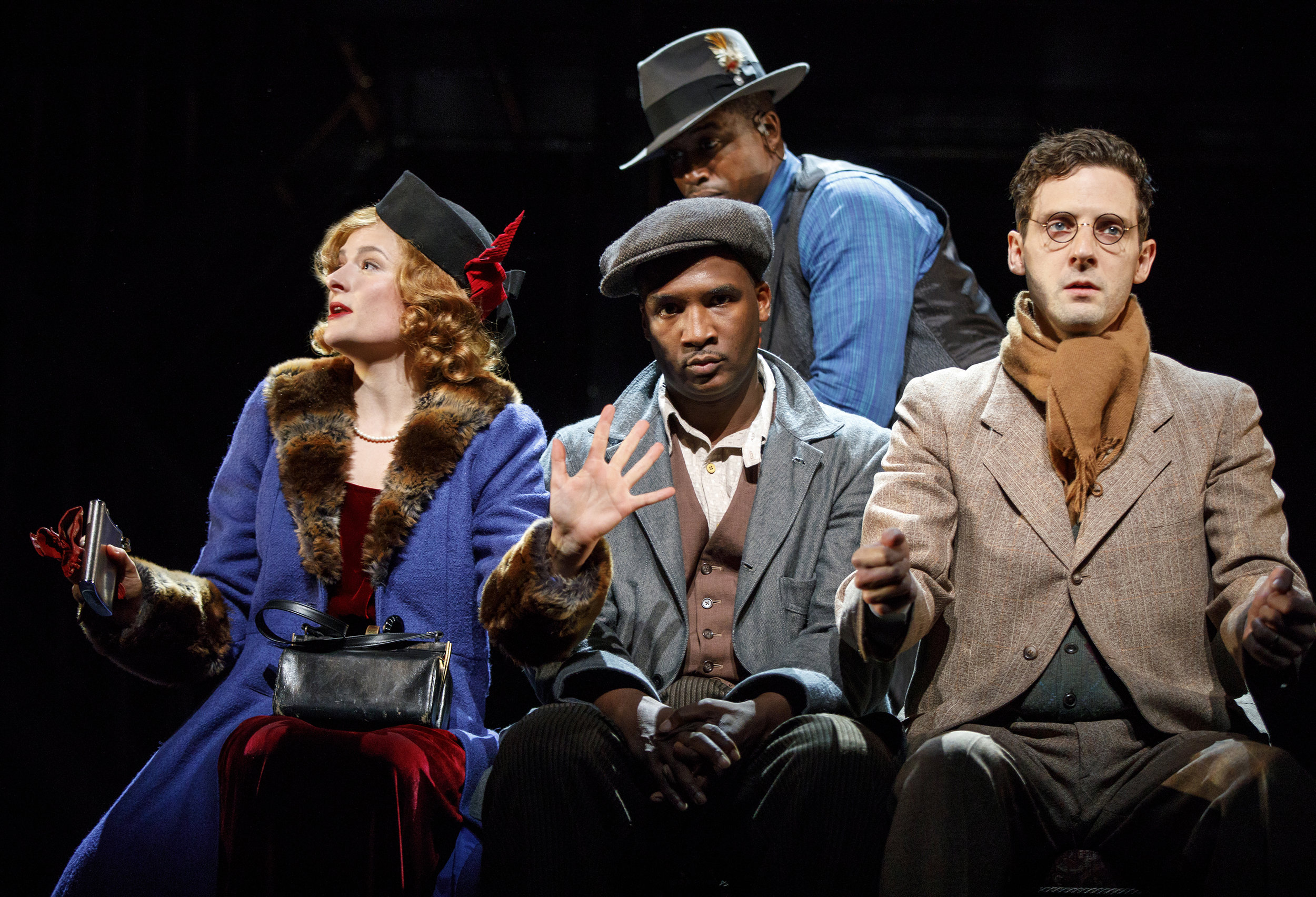 Mary Dalton (Louisa Jacobson), Bigger (Jerod Haynes), Jan (Joby Earle), background: The Black Rat (Jason Bowen)