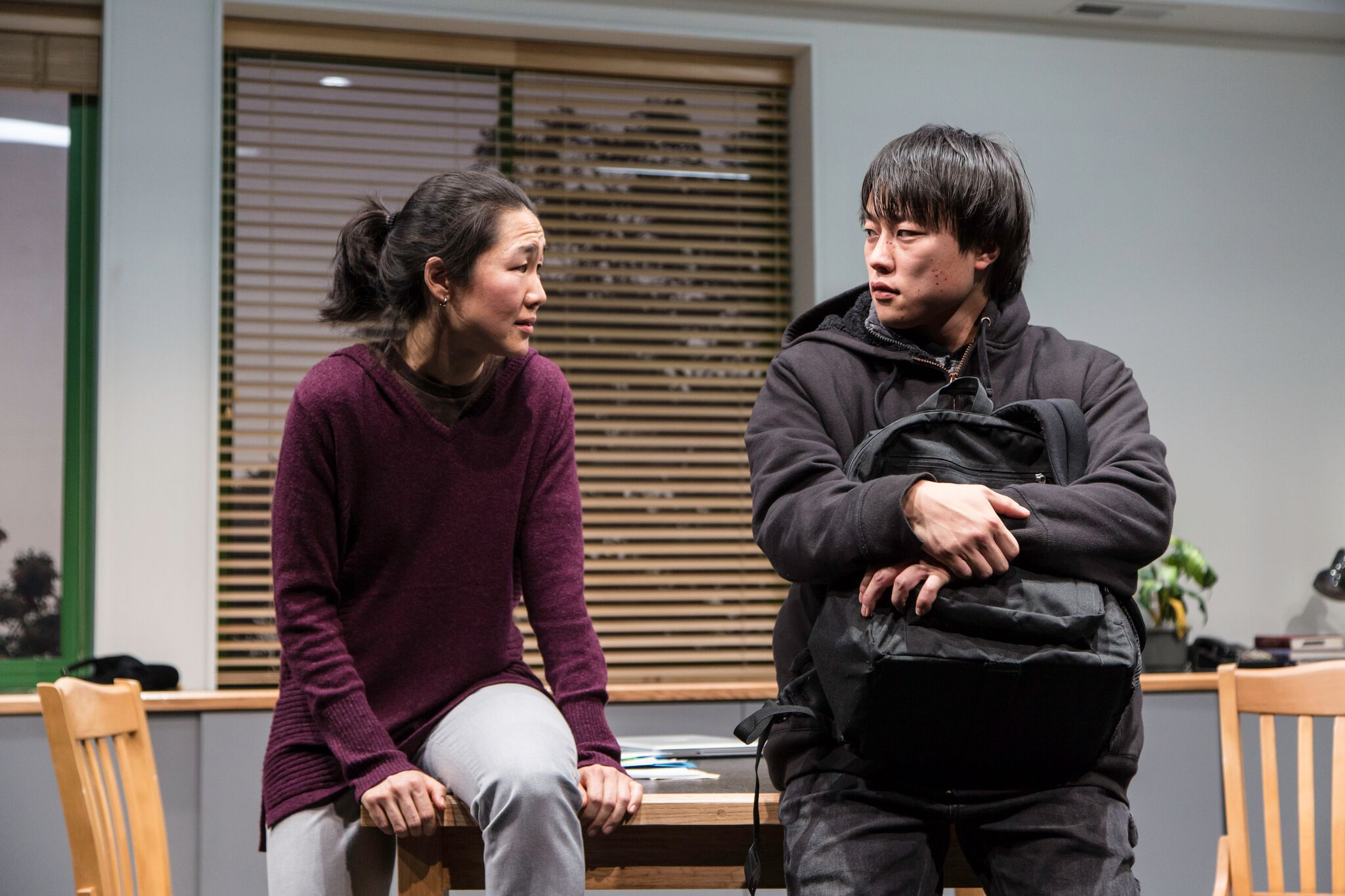 Gina (Jackie Chung), Dennis (Daniel Chung)