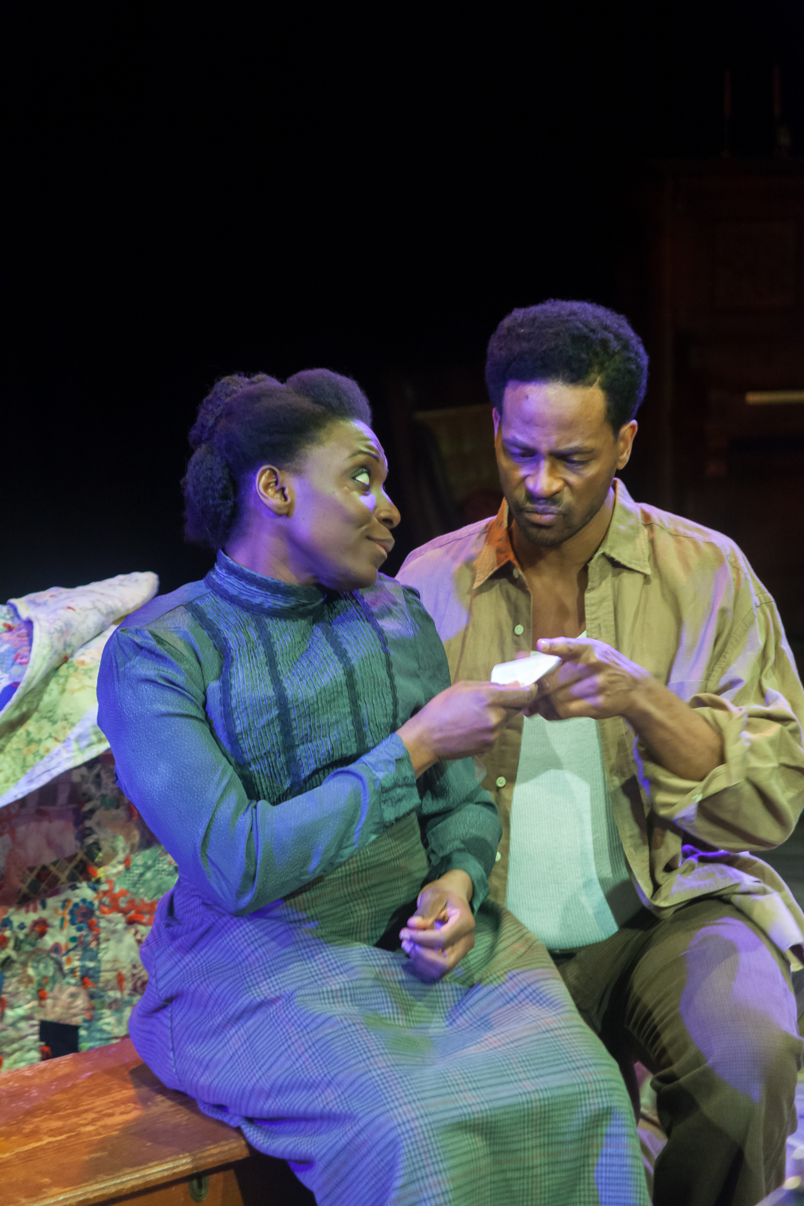 Esther (Darlene Hope), George (Beethovan Oden)