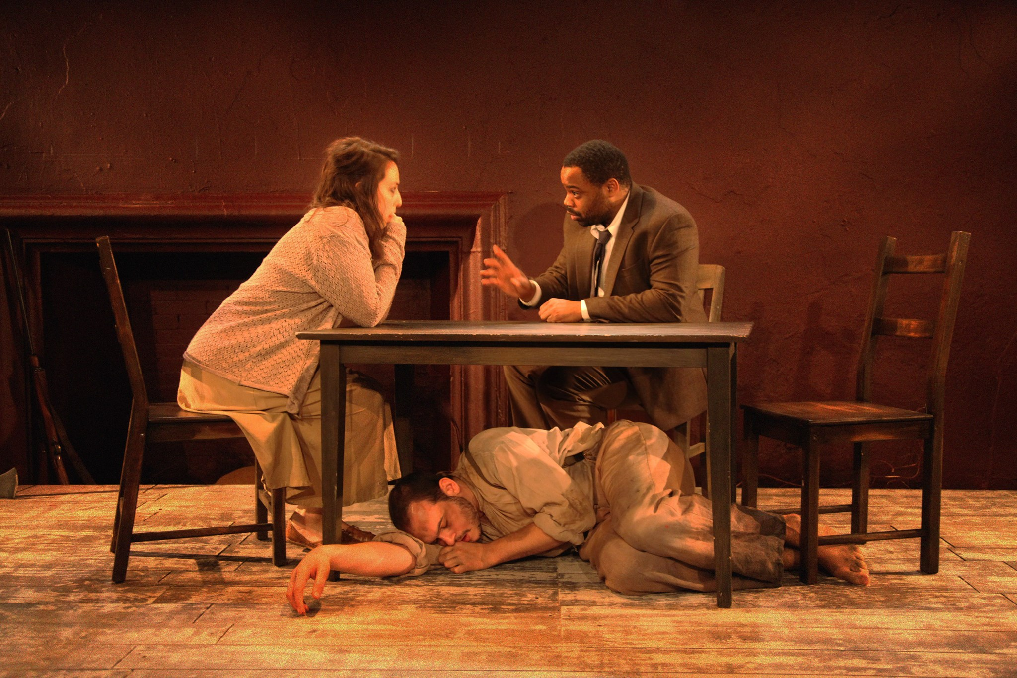 Mae (Danielle Chaves), Lloyd (Devin White), Henry (Brandon E. Burton)