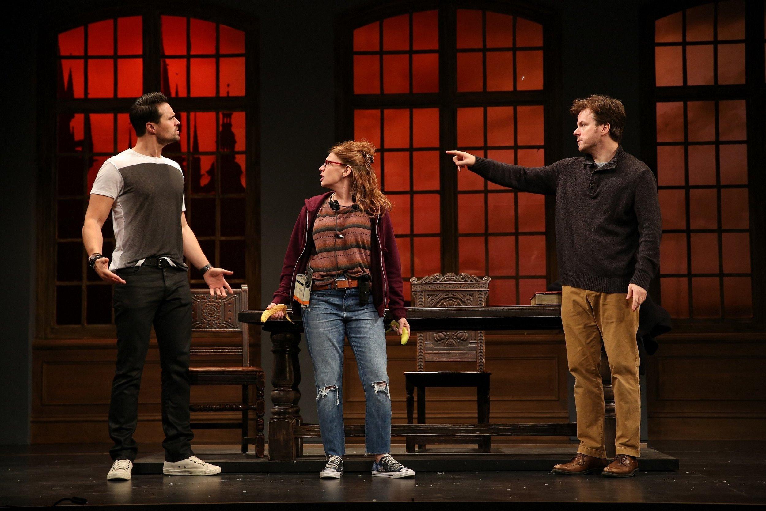 Jake (Brett Dalton), Roxanne (Andrea Syglowski), Harry (Eric Bryant)