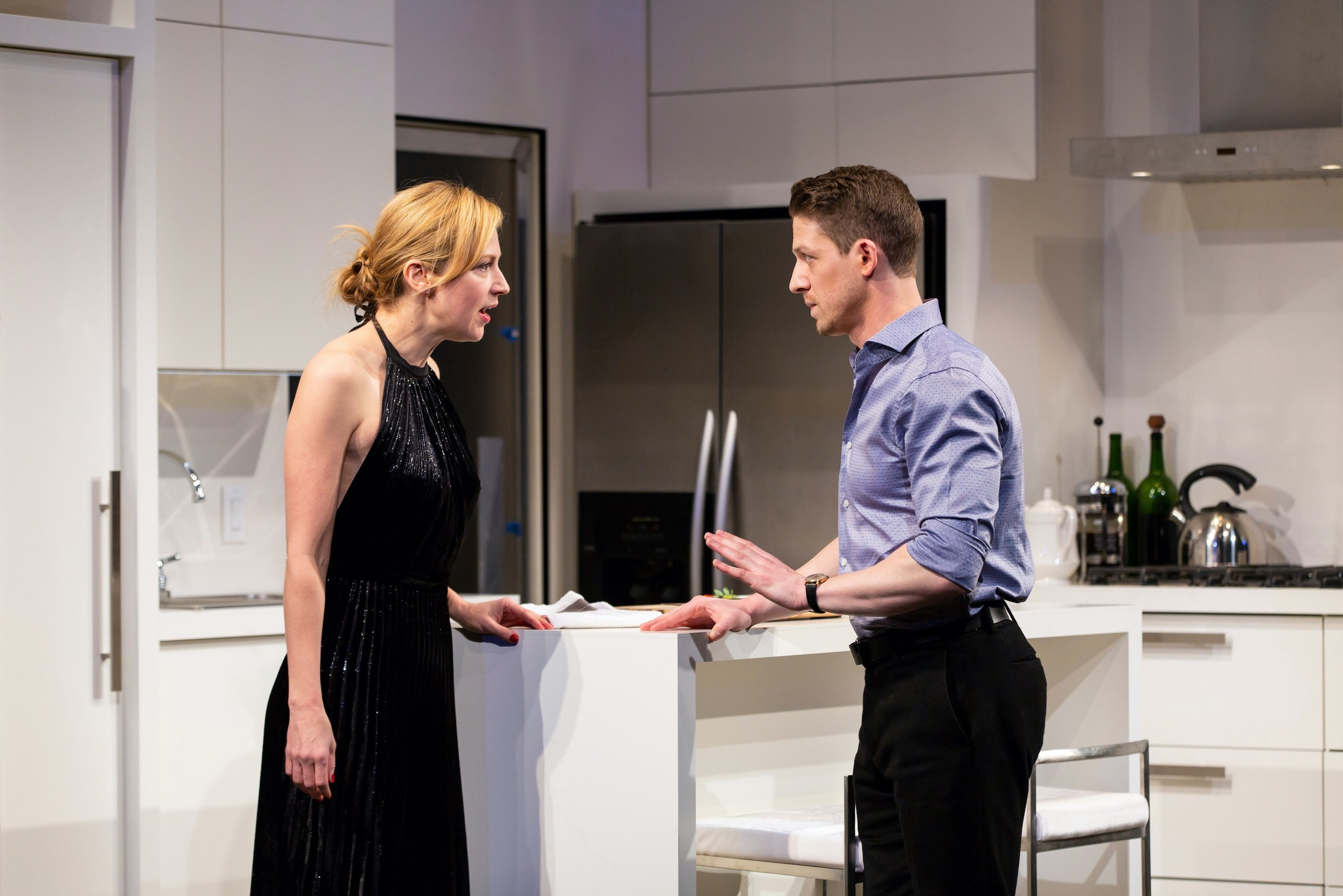 Katherine (Beth Riesgraf), Josh (Zach Appelman)