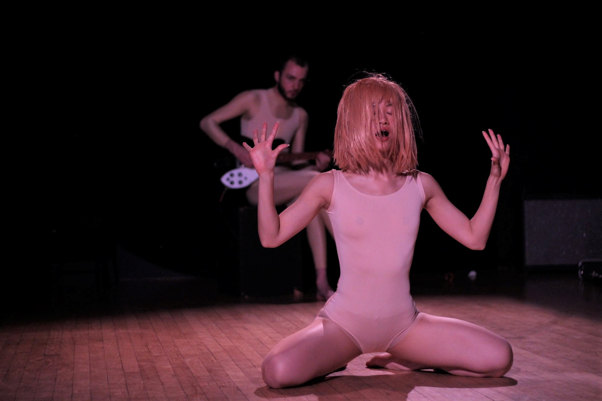 "Sarah Xiao, Liam Bellman-Sharpe, ""Untitled semi-improvised dance/music piece"""